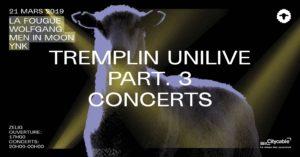 Tremplin UNILIVE @ Zelig